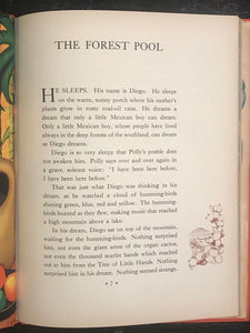 THE FOREST POOL - LAURA ADAMS ARMER - Stated 1st/1st HC/DJ 1938 - Very Scarce DJ