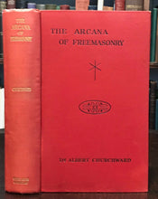 ARCANA OF FREEMASONRY - Churchward 1922 ANCIENT MYSTERIES SACRED GEOMETRY OCCULT
