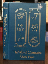 1983 CARTOUCHE TAROT CARDS DECK - WITH 1st Ed BOOK - EGYPTIAN MAGICK DIVINATION
