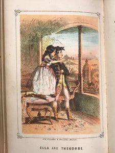 1856 - MOLLY AND KITTY, OR PEASANT LIFE IN IRELAND - Folklore Chromolithographs