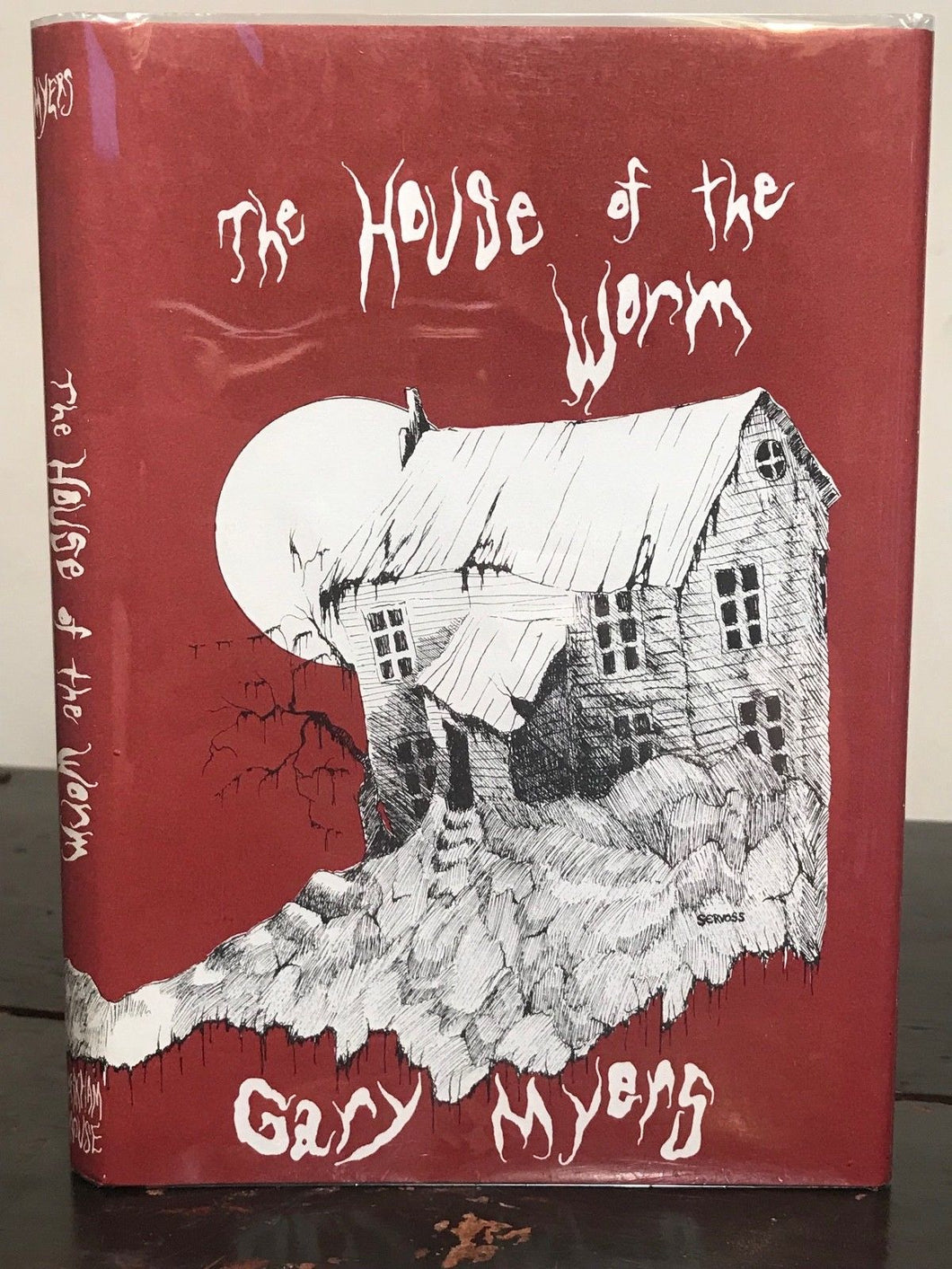 HOUSE OF THE WORM by Gary Myers - 1st edition, 1975 HC/DJ - Arkham House