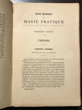 MÉTHODIQUE DE MAGIE PRATIQUE by PAPUS, 2nd Ed, 1937 - PRACTICAL MAGICK GRIMOIRE