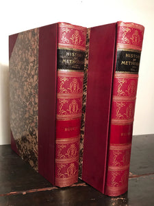 HISTORY OF METHODISM by James Buckley, 1897 2 Vols LUXURY BINDING WELL PRESERVED