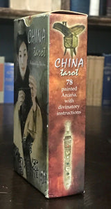 CHINA TAROT DECK - 2006 Complete 78 Cards, NEW OLD STOCK Never Used, LO SCARABEO