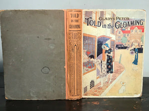 GLADYS PETO - TOLD IN THE GLOAMING - 1st 1930,  Fashion Designer, Artist, ILLUST