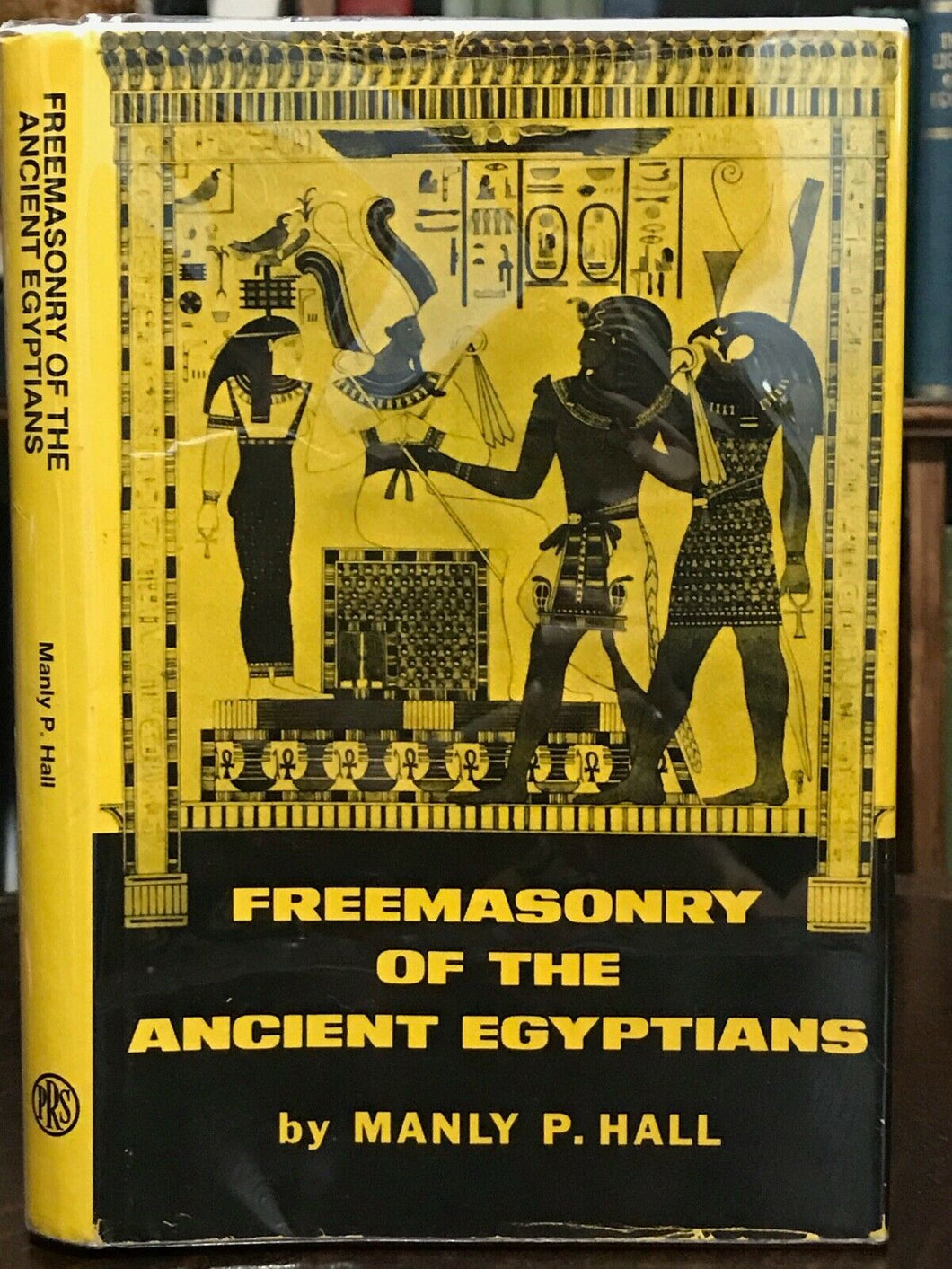 FREEMASONRY OF THE ANCIENT EGYPTIANS, Manly P. Hall, 1965 - ISIS MAGICK OCCULT