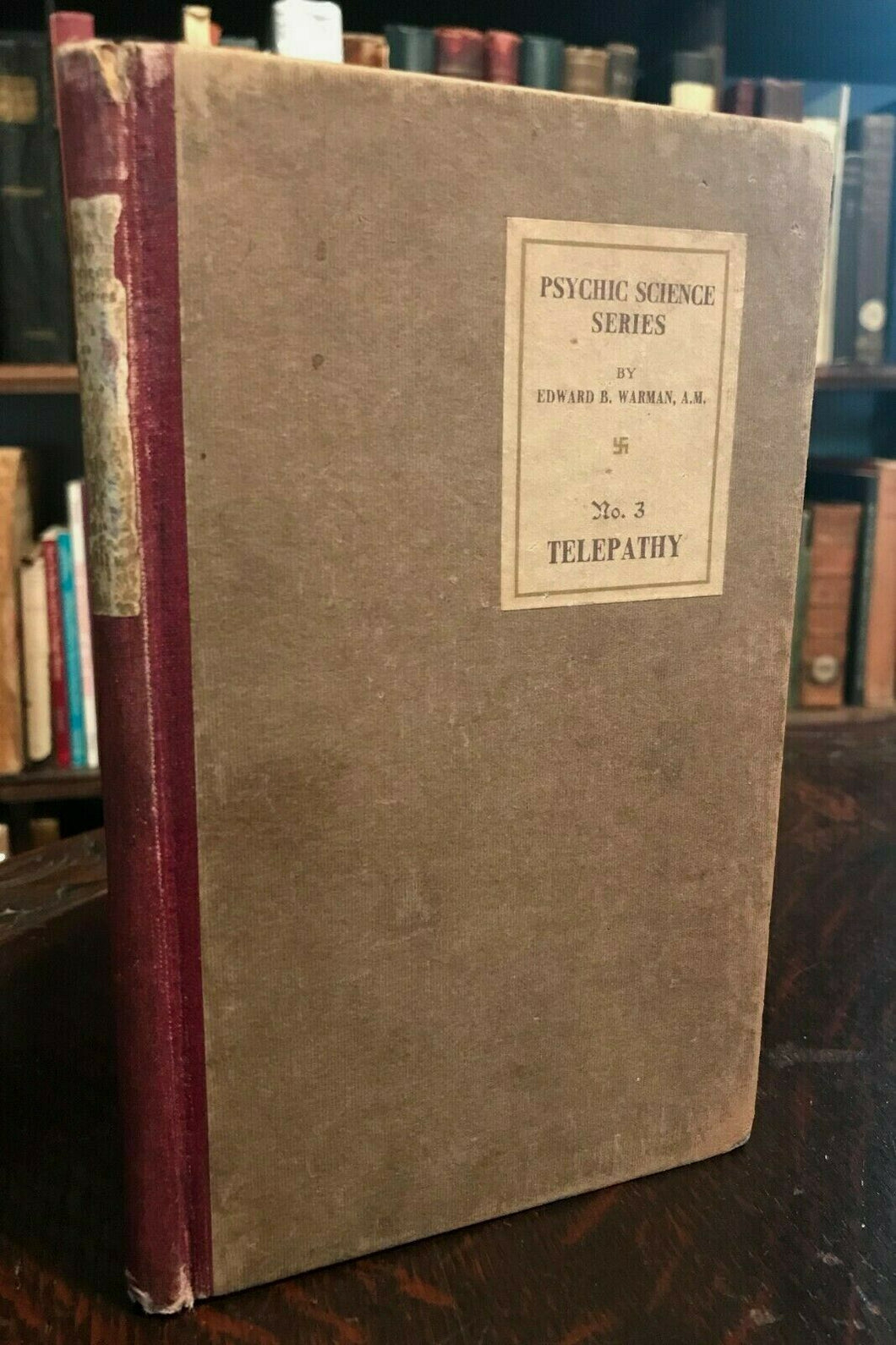 TELEPATHY - PSYCHIC SCIENCE SERIES - Warman, 1910 - MIND READING, DIVINATION