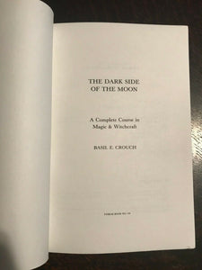 COMPLETE COURSE IN MAGIC & WITCHCRAFT - Finbarr 1st, 1987 MAGICK SPELLS GRIMOIRE