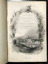 1848 CITIES OF EUROPE & THEATRE OF WAR, REVOLUTION in 30 MAPS, PLANS, ENGRAVINGS