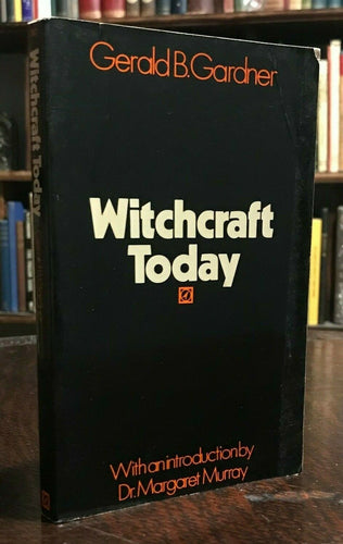 WITCHCRAFT TODAY - Gerald Gardner, 1970 MAGICK WICCA SABBATS HORNED GOD GODDESS