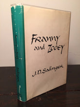 FRANNY AND ZOOEY by J.D. Salinger, Stated 1st Edition / 1st Printing 1961, HC/DJ