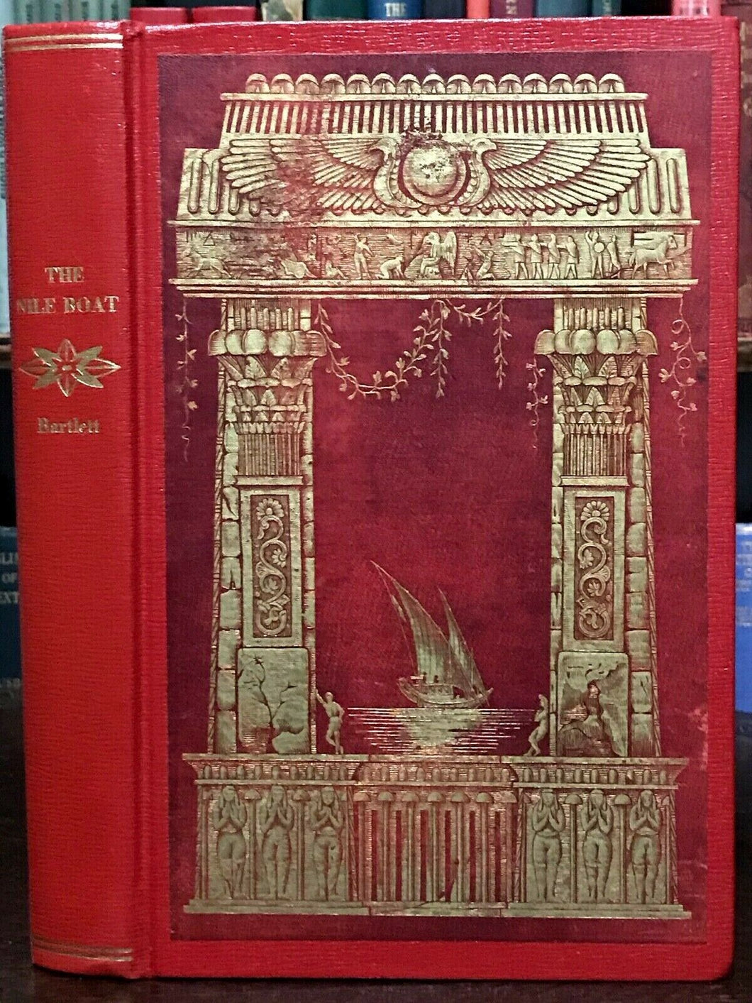 NILE BOAT, GLIMPSES OF THE LAND OF EGYPT - 1st Ed 1851 ILLUSTRATED ANCIENT EGYPT