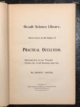 PRACTICAL OCCULTISM: How to Use Thought Forces - Occult Science Library, LOOMIS