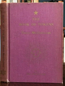 BOOK OF TOKENS: 22 MEDITATIONS ON AGELESS WISDOM, 1974 Paul Foster Case - TAROT