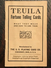 1923 TEUILA FORTUNE-TELLING TAROT CARDS by I. Field - MAGICK DIVINATION OCCULT