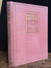 MAGICAL MYSTERIES by The McElhones, 1st / 1st 1929 - SIGNED, Near Mint Cond.