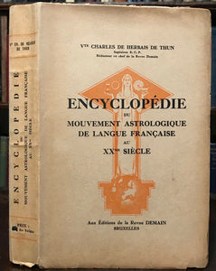 ENCYCLOPEDIE DU MOUVEMENT ASTROLOGIQUE - 1944, ASTROLOGY DIVINATION OCCULT
