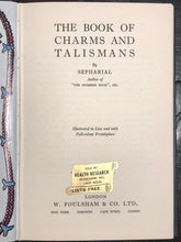 SEPHARIAL - THE BOOK OF CHARMS AND TALISMANS 1950 CHARMS KABALA MAGIC NUMEROLOGY