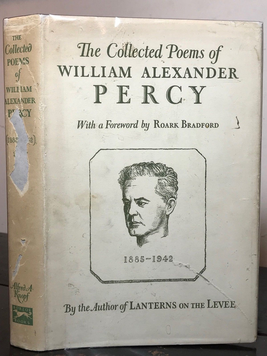 THE COLLECTED POEMS OF WILLIAM ALEXANDER PERCY, Stated 1st/1st 1943 HC/DJ