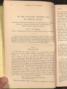 1897-1898 - SOCIETY FOR PSYCHICAL RESEARCH - OCCULT SPIRITUALISM  GHOSTS PSYCHIC