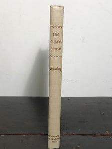 THE SUBTLE SENSE: KEY TO THE WORLD OF ODORS, Bienfang 1st/1st 1946 HC/DJ