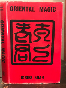 ORIENTAL MAGIC - Shah, 1968 - WITCHCRAFT MAGICK SORCERY SPELLS TALISMANS