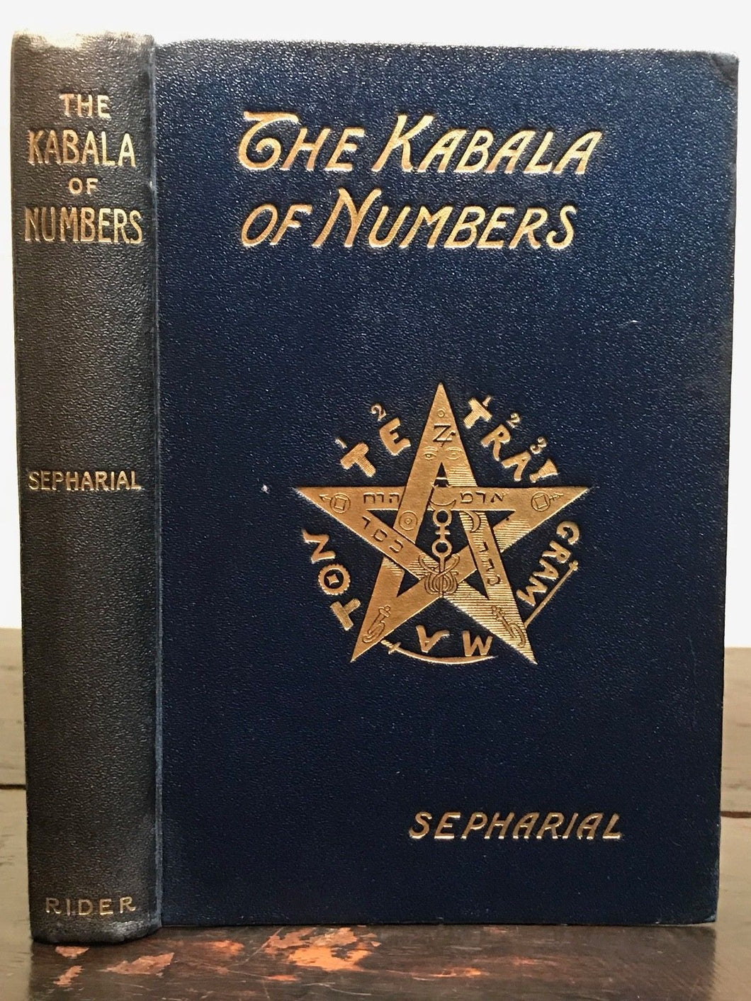SEPHARIAL - THE KABALA OF NUMBERS, 1st/1st 1911 KABALISTIC NUMEROLOGY DIVINATION