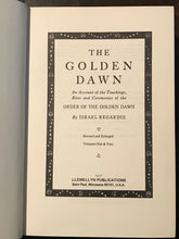 ISRAEL REGARDIE - THE GOLDEN DAWN - 2nd Printing, 1974 - OCCULT MAGICK