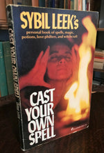 CAST YOUR OWN SPELL - Sybil Leek, 1975 SPELLS MAGICK POTIONS WITCHCRAFT GRIMOIRE