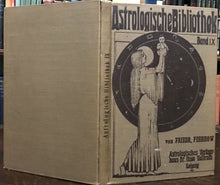 1930 ASTROLOGISCHE BIBLIOTHEK (ASTROLOGICAL LIBRARY) Vol IX - MEDICAL ASTROLOGY