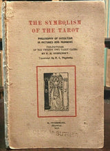 SYMBOLISM OF THE TAROT - P.D. Ouspensky - 1st Ed, 1913 - OCCULT TAROT DIVINATION