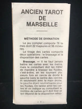 1982 - Vintage Mini Tarot de Marseille Cards Deck - Pocket Size, Grimaud Paris