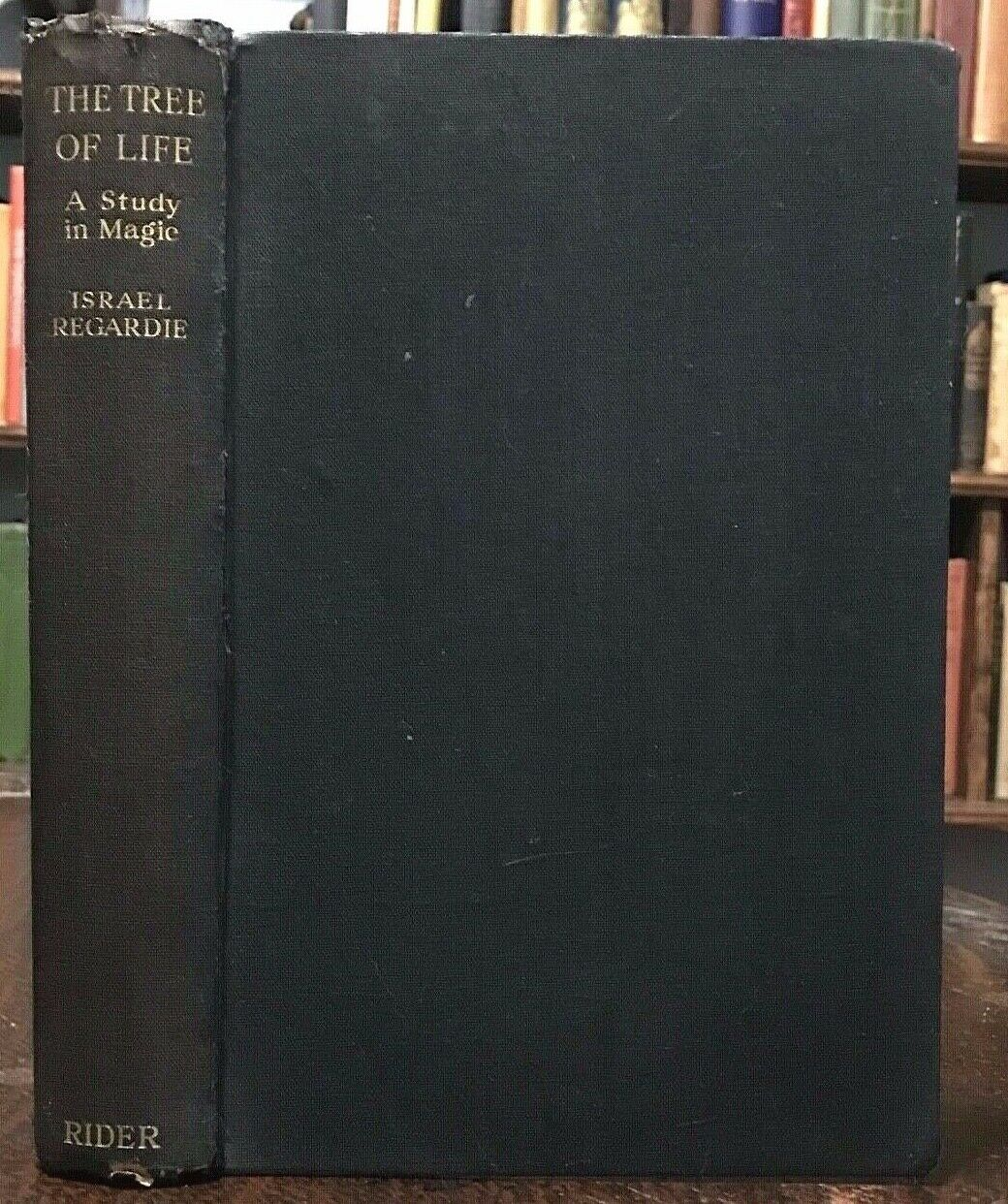 TREE OF LIFE: A STUDY IN MAGIC - Israel Regardie, 1st 1932 MAGICK, SIGNED COPY