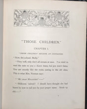THOSE CHILDREN by HELEN MILMAN 1st / 1st 1890 ILLUSTRATED by E. Harding, Scarce