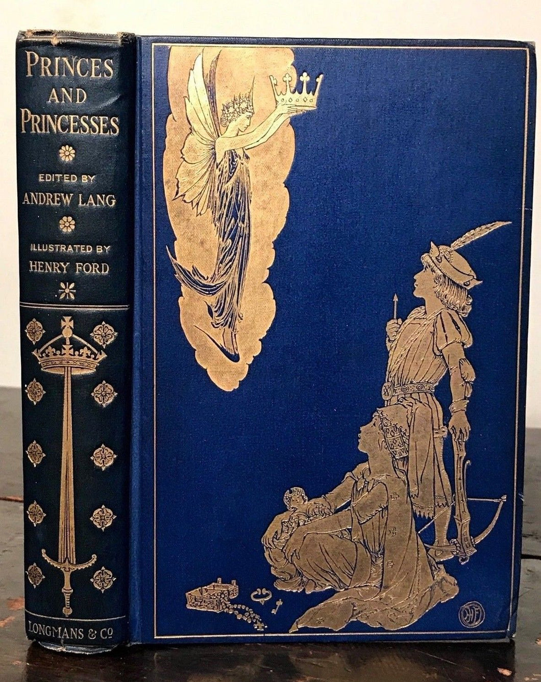 BOOK OF PRINCES AND PRINCESSES - Lang, Ford Illustrations - 1st Ed, 1908