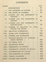SEPHARIAL - THE KABALA OF NUMBERS - 1933 - KABALISTIC NUMEROLOGY DIVINATION