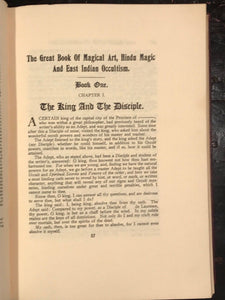 THE GREAT BOOK OF MAGICAL ART, HINDU MAGIC & INDIAN OCCULT - L.W. de LAURENCE