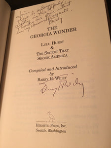 THE GEORGIA WONDER Barry Wiley 1st/1st 2004 – SIGNED HC/DJ Near Mint, VERY RARE