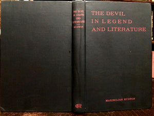 DEVIL IN LEGEND AND LITERATURE - 1st Ed, 1931 - SATAN LUCIFER LILITH HELL