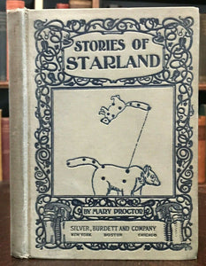STORIES OF STARLAND - Proctor, 1st 1898 - FOLKLORE MYTHOLOGY MOON SUN ASTRONOMY