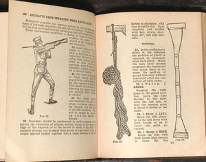 MANUAL FOR NONCOMMISSIONED OFFICERS AND PRIVATES OF INFANTRY 1917 ~ Sherman Ed.