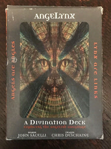 ANGELYNX DIVINATION DECK - 1st Ed, Sacelli & Deschaine - 2005 SCARCE Tarot Cards