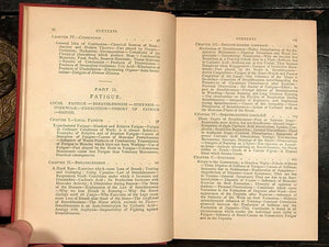 PHYSIOLOGY OF BODILY EXERCISE - LaGrange, 1st Ed 1890 - EARLY SPORTS MEDICINE
