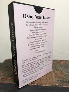 OSHO NEO-TAROT CARD DECK - SWAMI RAJNEESH OSHO, 2003 Rebel Publishing NEAR MINT