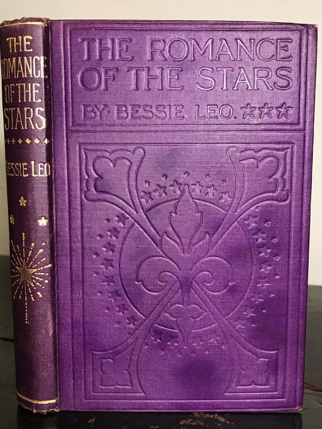 Scarce 1914 - BESSIE LEO - THE ROMANCE OF THE STARS, 1st/1st - ASTROLOGY ZODIAC