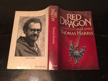 RED DRAGON by Thomas Harris — First Edition HC/DJ 1981 Hannibal Lecter