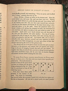 "CONJURING TRICKS WITH CARDS (FROM ""MODERN MAGIC"") - Hoffmann Magic Tricks - 1934"