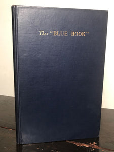 "THE ""BLUE BOOK"", S. Idem, Limited Ed 1500 Copies 1936 ~ New Orleans Prostitution"