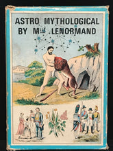 Vintage ASTRO MYTHOLOGICAL CARD GAME by MLLE LENORMAND, 1970