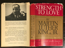 STRENGTH TO LOVE by DR. MARTIN LUTHER KING, JR. ~ 1st / 1st, 1963 HC/DJ